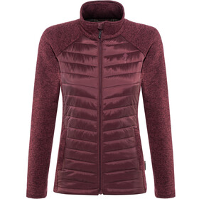 Pinewood W's Gabriella Padded Jacket Dark Burgundy